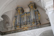 Vue panoramique de l'orgue en tribune. Cliché personnel (6 juin 2009)