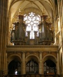 Le grand orgue, cathédrale St-Guy de Prague. Crédit: http://www.orgbase.nl/