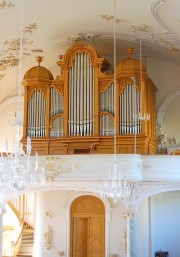 Le grand orgue restauré par Späth. Cliché personnel