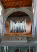 Le grand orgue Kuhn - Mathis de la Stadtkirche de Glaris. Cliché personnel privé (juillet 2014)