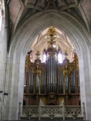 Grand Orgue Kuhn du Münster de Berne. Cliché personnel