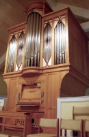Orgue Juget-Sinclair de la Second Presbyterian Church (2007) à Nashville. Crédit: www.uquebec.ca/musique/orgues/